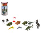 """A set of toy soldiers """"Division"""", 12 items"""