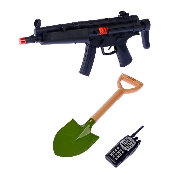 Набор военного «В окопе», 3 предмета