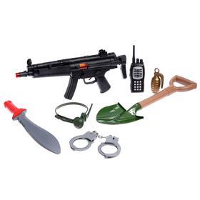 Набор военного «Пехотинец», 7 предметов