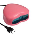 Лампа для сушки гель-лака LuazON LUF-03, LED, 28 светодиодов, 3 Вт, светло-розовый