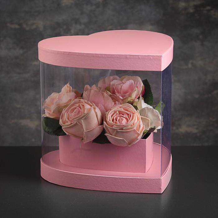 Коробка подарочная, 26 х 27 х 25 см - фото 8877799