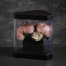 Коробка подарочная, 22,5 х 22,5 х 27 см