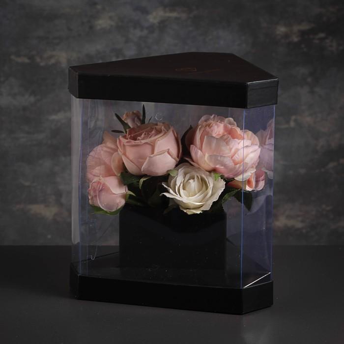 Коробка подарочная, 22,5 х 22,5 х 27 см - фото 8877809