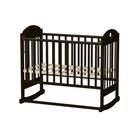 Кровать детская «Иришка 6» с сердцем, венге