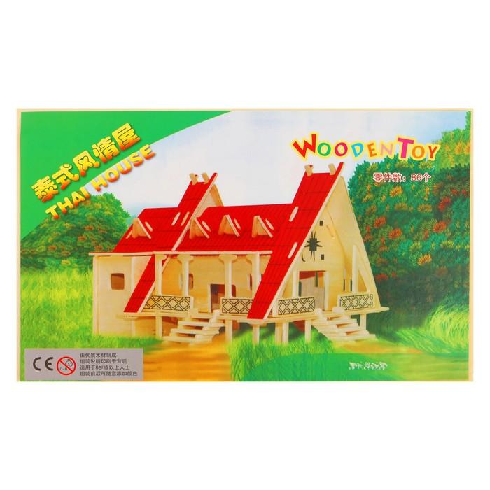Конструктор 3Д «Тайский дом»