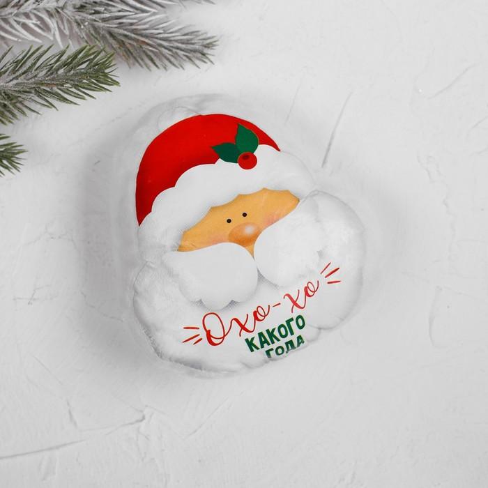 Магнит «Охо-хо какого года», Дед мороз