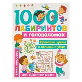 «1000 лабиринтов и головоломок», Малышкина М. В., Дмитриева В. Г.