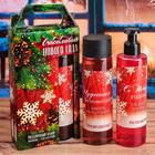 """Подарочный набор """"Счастливого Нового года"""": шампунь и гель для душа"""