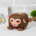 "Soft toy piggy Bank ""Monkey"" with sound, lighting"
