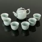"""Набор для чайной церемонии """"Чайпитие"""", 7 предметов: чайник 280 мл, 6 чашек 100 мл"""