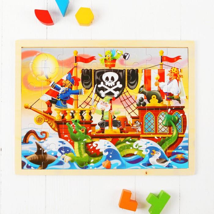 "Пазл ""Пираты"", макси размер"