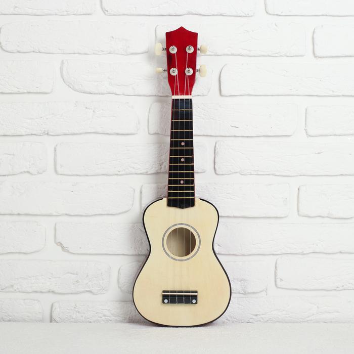 """Игрушка музыкальная """"Гитара"""", цвет  розовый"""