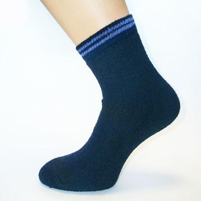 Носки женские махровые, цвет МИКС, р-р 23-25