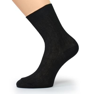 Носки мужские, цвет чёрный, р-р 27
