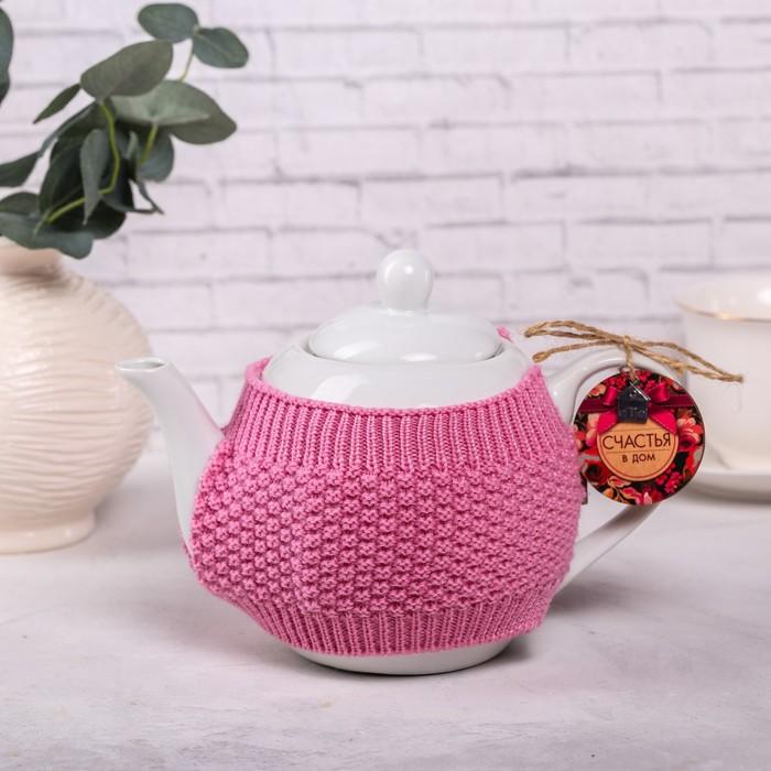 Чайник заварочный «Счастья в дом», 900 мл