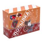 Складная коробка «Посылка», 22 × 30 × 10 см