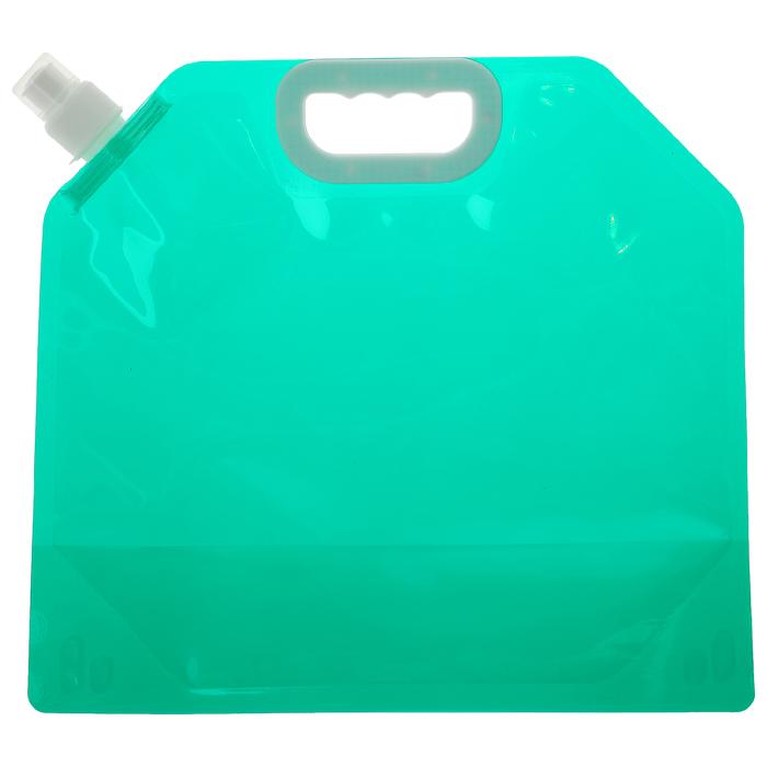 Канистра туристическая 5 л, цвет зелёный
