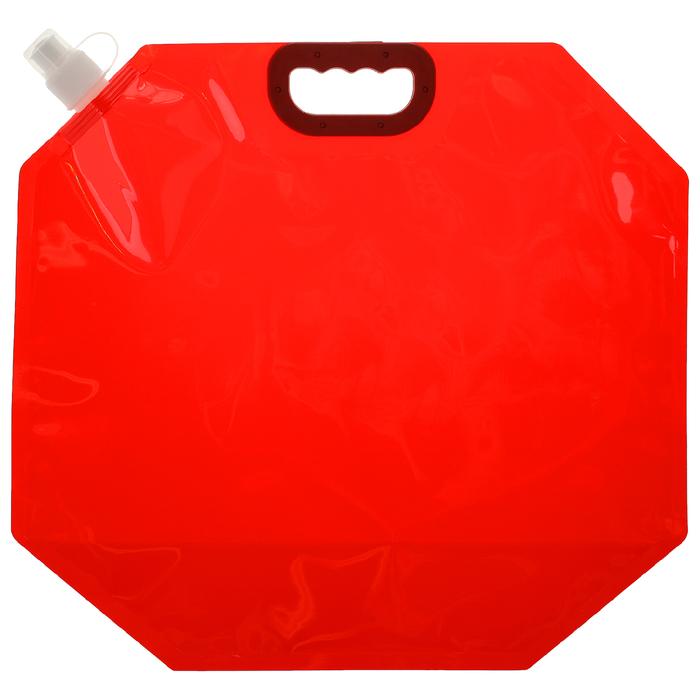 Канистра туристическая 10 л, цвет красный