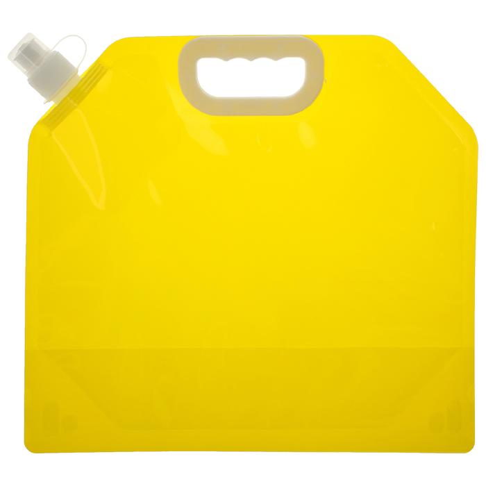 Канистра туристическая 5 л, цвет желтый