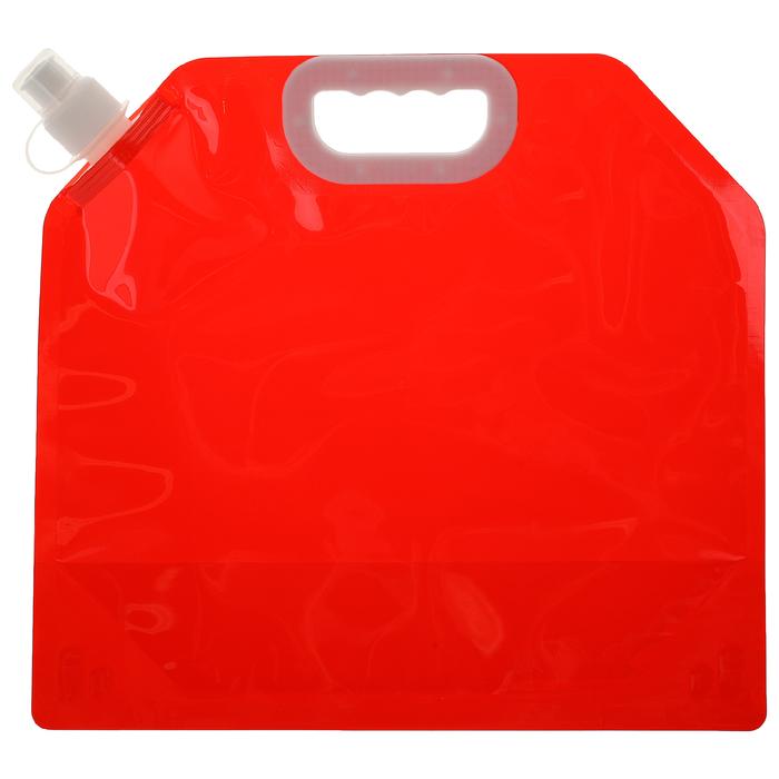 Канистра туристическая 5 л, цвет красный