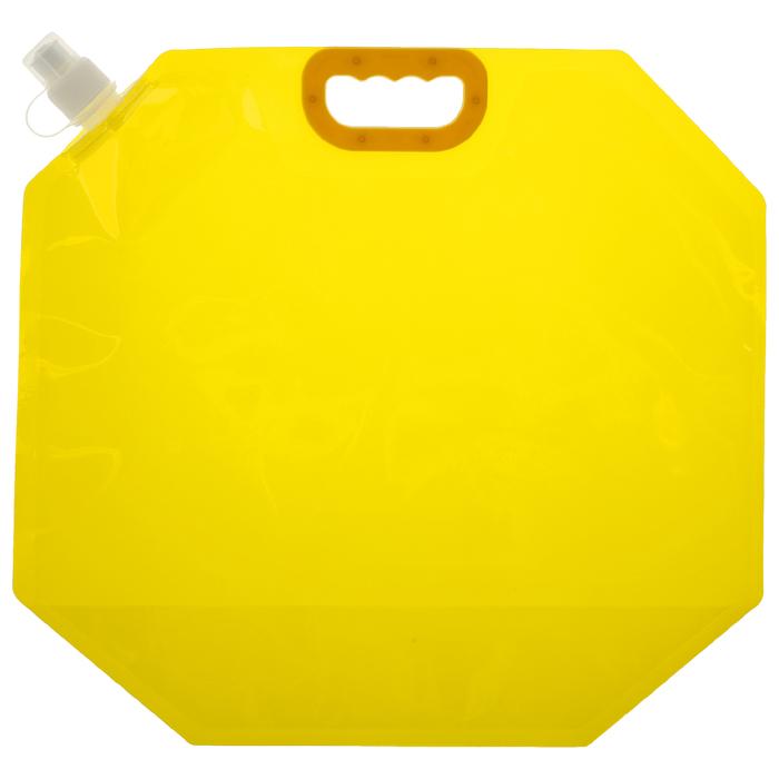 Канистра туристическая 10 л, цвет жёлтый