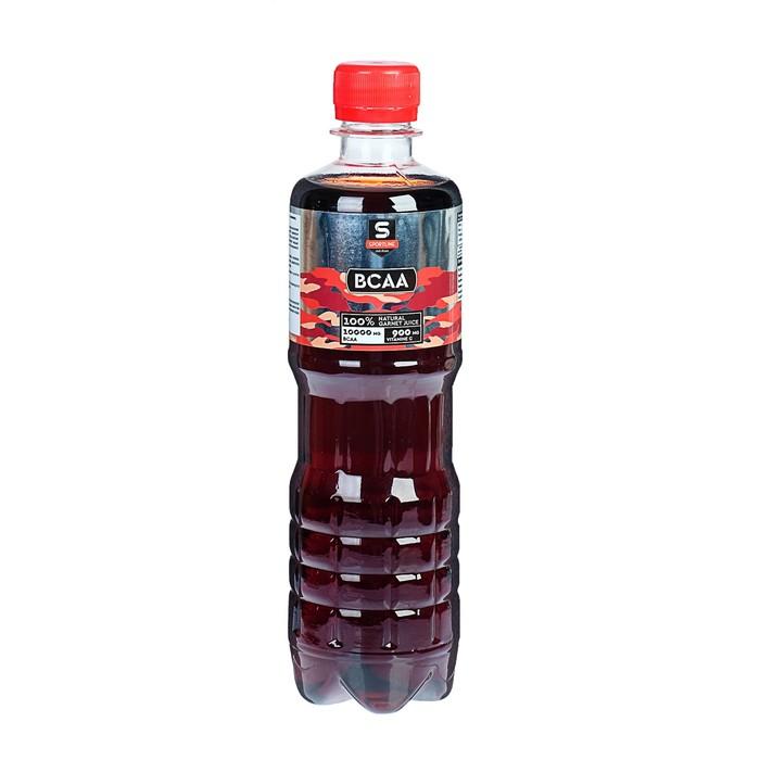 Напиток SportLine BCAA 10000mg 500ml (Гранат)