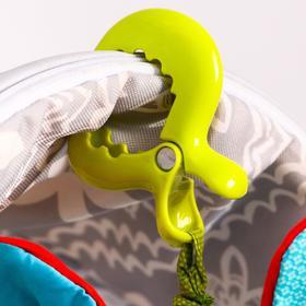 Игрушка - подвеска на кроватку/коляску «Зайчик», с прорезывателем