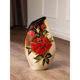 """Ваза напольная """"Каприз"""", разноцветная, 42 см, микс, керамика"""
