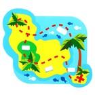 Набор развивающих игрушек для игры в ванной из EVA «Приключения пирата», 5 предметов - фото 105534819