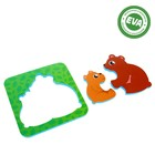 Рамка-вкладыш для ванны «Мишки» - фото 105534843