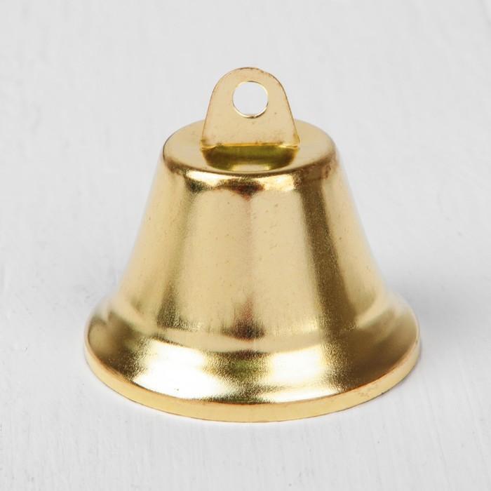 Колокольчик, размер 1 шт. 5 см, цвет золотой