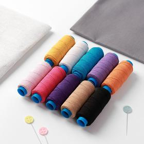 Набор эластичных ниток «Ассорти №6», 25 м, 10 шт, цвет разноцветный