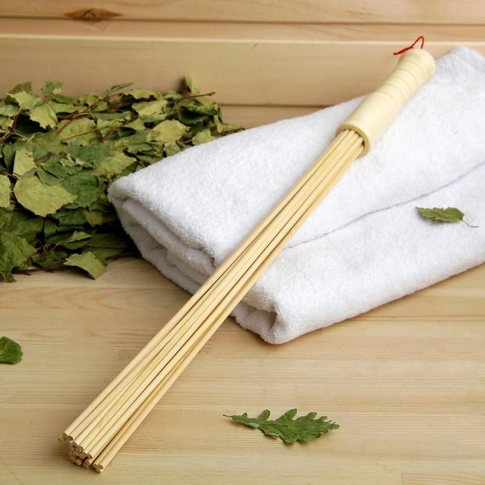 Веник из бамбука 60см, 0,5см прут