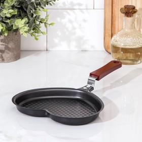 Pan 17 cm Heart non-stick coating