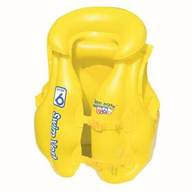 Жилет надувной Swim Safe, ступень B, 51 х 46 см, 3-6 лет, 32034 Bestway