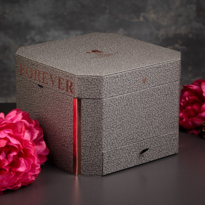 Коробка подарочная, 22 х 22 х 16,5 см - фото 8877834