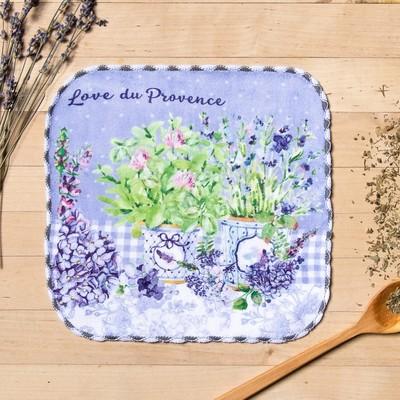 "Towel microfiber ""Lavender"" 20x20 cm"