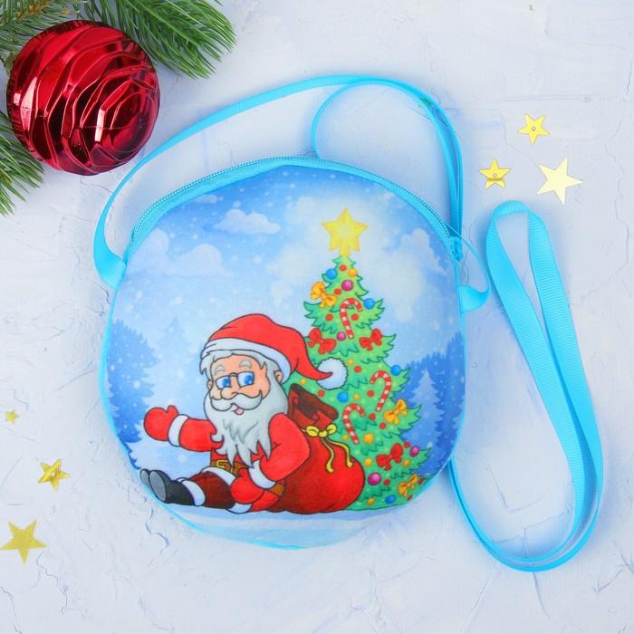 """Мягкая сумочка """"Дед Мороз"""""""