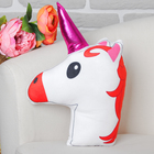 """Soft toy-pillow """"Unicorn"""" double sided"""