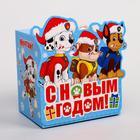 Подарочная коробка «С Новым Годом!», PAW PATROL, 11 х 11 х 8 см