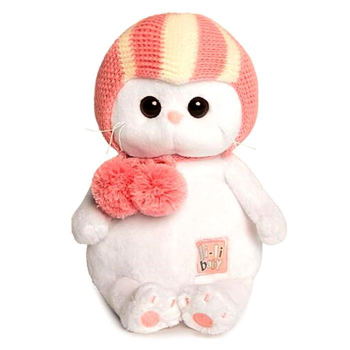 Мягкая игрушка «Кошечка Ли-Ли BABY» в спортивной шапке, 20 см - фото 4468750