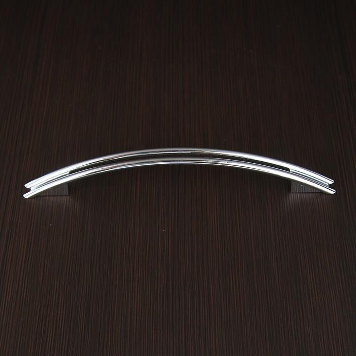 Ручка скоба РС140CP, м/о 128 мм, цвет хром