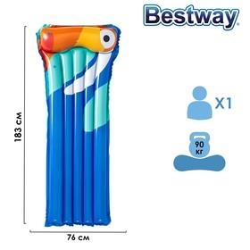 Матрас для плавания, 183 х 76 см, цвета МИКС, 44021 Bestway