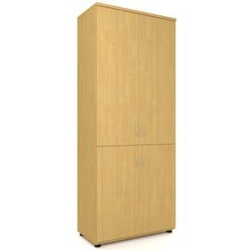 Шкаф для документов, 798х418х1960 мм, бук
