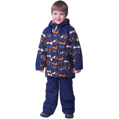 Комплект для мальчика, рост 128 см, цвет синий