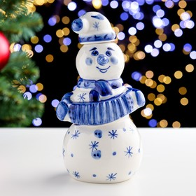 {{photo.Alt || photo.Description || 'Штоф «Снеговик Балагур», 20 см, 0,5 л, гжель'}}