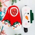 """Набор """"Снеговик"""", маска для сна, носки"""