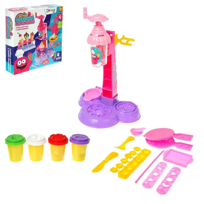 Набор для игры с пластилином «Фабрика мороженого»