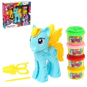 Набор для игры с пластилином «Пони»