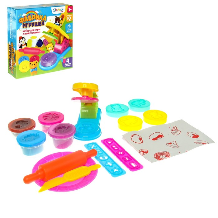 Набор для игры с пластилином «Фабрика игрушек»